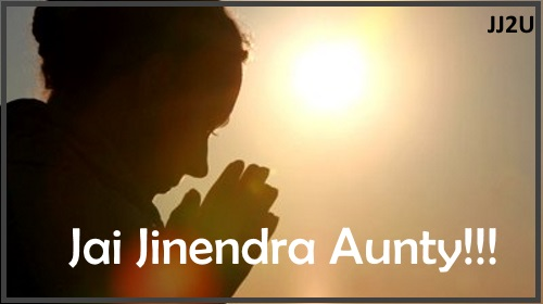 Jai Jinendra Wallpaper For Greeting Aunty Ji, Mausi, Chachi, Mami