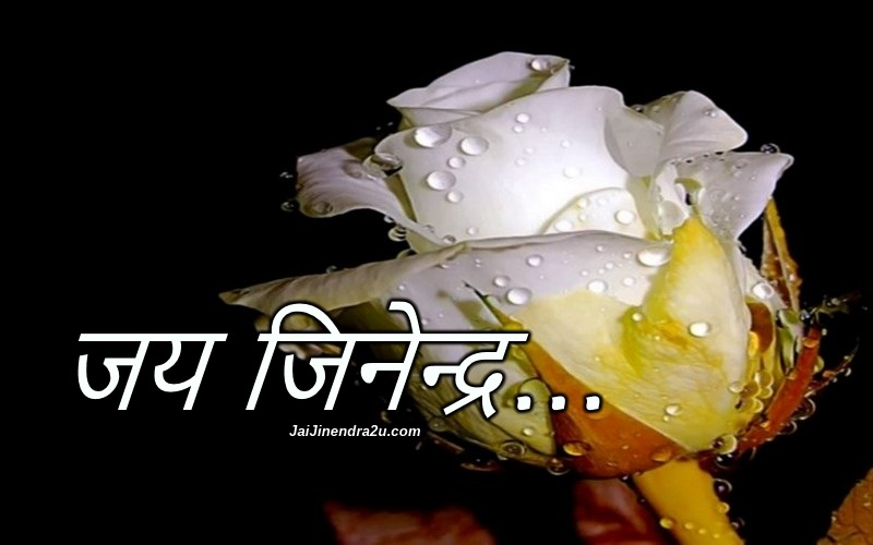 Jai Jinendra Wallpaper In Hindi Font - Jain Picture